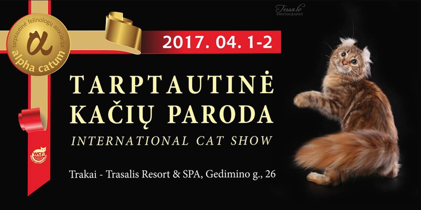 Kačių paroda balandžio 1-2 d.