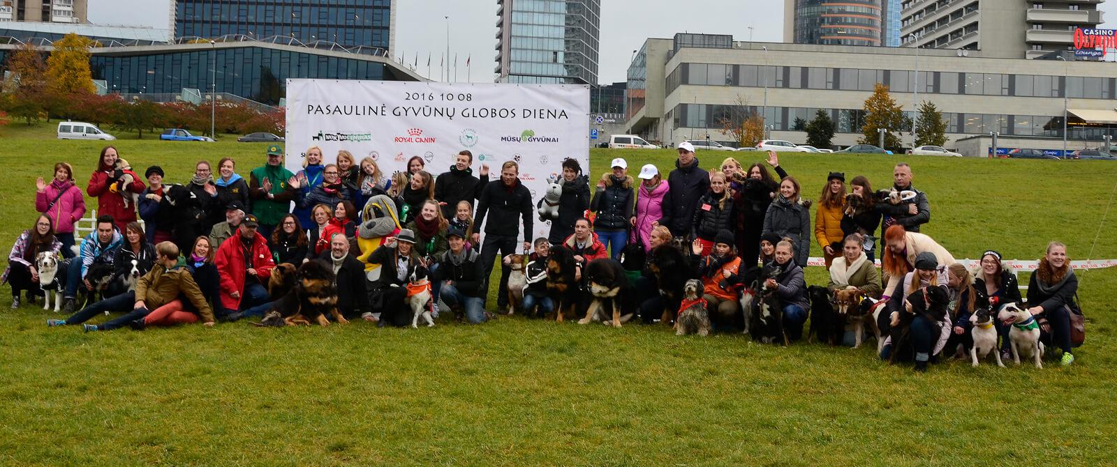 Gyvūnų globos diena Vilniuje