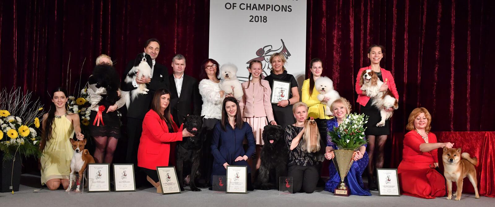 Baltijos šalių šunų čempionų čempionatas 2018